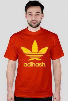 Koszulka Męska - Adihash.  Odwiedź sklep : www.thclothes.cup... #thclothes #thc #weed #nadruk #na #koszulke #wzory #cupsell #tshirt #design