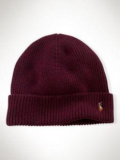 3fbaeda814b Signature Cuffed Merino Hat - Polo Ralph Lauren Hats - RalphLauren.com Dope  Hats