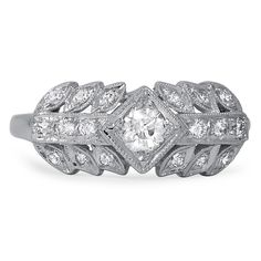 The Okena Art Deco Engagement Ring