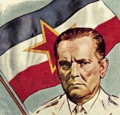 Marshal Josip Broz Tito of Yugoslavia.