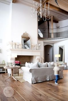 gorgeous living room {love the staircase and all the interior design 2012 house design home design room design interior Home Design, Interior Design, Design Ideas, Modern Interior, Design Design, Alice Lane Home, House Of Turquoise, Turquoise Kitchen, Home Fashion