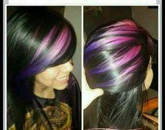 Violeta y rosa