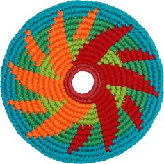 Pocket Disc is raising funds for LunaDisc: Bringing LEDs to the one-of-a-kind Fair Trade disc on Kickstarter! Beading Projects, Crochet Projects, Mosaic Patterns, Crochet Patterns, Crochet Cord, Tapestry Crochet, Basket Weaving, Sewing Crafts, Crafty