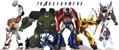 Transformers: Avenge by MultiverseCafe.deviantart.com OH MY GOSH THIS IS PERFECT!!!!!! <3333