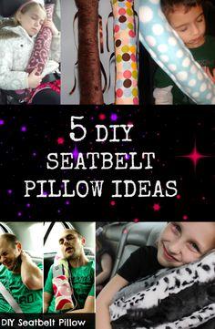 Seatbelt pillows