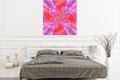 Sashay Canvas Print by Expressionistartstudio Priscilla-Batzell.  All canvas prints are professionally printed, assembled, and shipped within 3 - 4 business days and delivered ready-to-hang on your wall. Choose from multiple print sizes, border colors, and canvas materials.