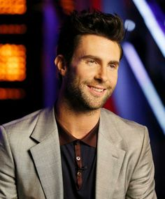 Levine blushed during 'The Voice' after Carson Daly made the big announcement. 'I feel sexy!' he said.