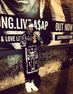 ASAP-Rocky-wears-KTZ-Church-Embroidered-Long-Hoodie-London