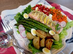 Spring Salmon and Asparagus Salad and a Time Capsule | Wives with Knives
