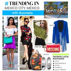 Trending in My Town: Zentella by polyvore-editorial on Polyvore featuring ThePerfext, Chiara Ferragni, Moschino, Tory Burch and trendinginmytown