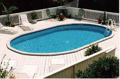 Like the diagonal boards Above Ground Pool Landscaping, Above Ground Pool Decks, Backyard Pool Landscaping, In Ground Pools, Pool Deck Plans, Backyard Plan, Small Backyard Pools, Swimming Pool Decks, My Pool