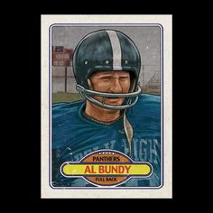 I just added a limited amount of APs of this Al Bundy trading card to my store. Click the link in my profile to purchase. #art #artwork #albundy #football #panthers #cuylersmith #doodle #drawing #digital #instaart #instagood #illustration #fullback...