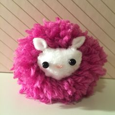 DIY Pygmy Puff from Harry Potter