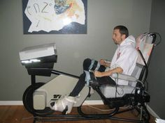 Pilot randomized trial of progressive resistance exercise augmented by neuromuscular electrical stimulation for people with multiple sclerosis . Cycling Machine, Affect Me, Spinal Cord Injury, Resistance Workout, Muscle Spasms, Workout Machines, Gym, How To Show Love, Multiple Sclerosis