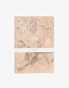 Gold Marbled Notebook