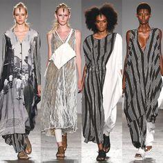 Uma Wang collage, ss17, milano fashion week