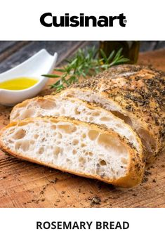 Basic/White Bread Program Can be made with Delay Start Timer Pan Bread, Yeast Bread, Rosemary Bread, Fresh Bread, Artisan Bread, Bread Recipes, Dinner Recipes, Nutrition, Favorite Recipes