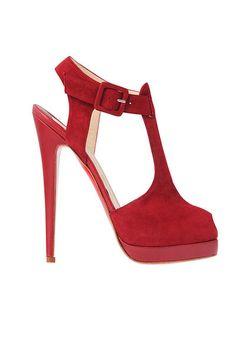 Christian Louboutin Mary Jane Zapatillas rojas
