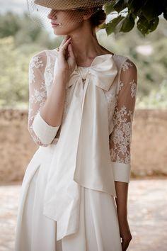 Robes de mariée - Victoire Vermeulen - Collection 2017 | Photographe : Félicia Sisco | Donne-moi ta main - Blog mariage