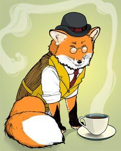 Fancy Red Fox by Marissa Rojas