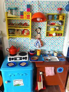 Legekøkken Projekt Gør Det Selv Playkitchen DIY