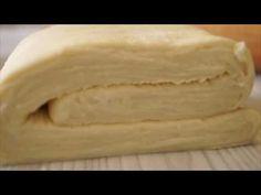 """Aluat foietaj """"Preferat"""" - cel mai bun dintre toate! - Bucatarul Croissants, Food Storage, Deserts, Dairy, Cooking Recipes, Ale, Bread, Cheese, Kitchen"""