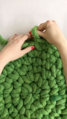 Check out this How To DIY Finger Crochet Video on Darby!