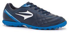 2015 chuteira Topper society Titanium IV marinho/azul