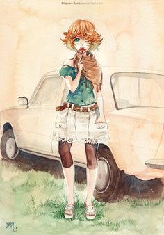 An ordinary day - 50 Examples of Anime Digital Art