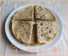 Crêpes au blé complet et au son d'avoine Diabetic Meal Plan, Diabetic Recipes, Healthy Recipes, Healthy Food, Meal Planning, Menu, Gluten, Bread, Diet