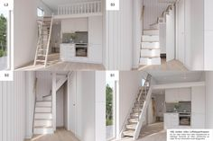 Tyni House, House Rooms, Little House Plans, Compact Living, Swedish House, Old Houses, Small Spaces, Building A House, Floor Plans