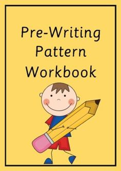 A workbook with 15 pages of pre-writing patterns for students to trace. ... Teacher Created Resources, Teaching Resources, 21st Century Skills, Pre Writing, Education English, Sight Words, Teacher Newsletter, Classroom Decor, Literacy