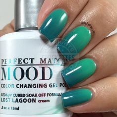 LeChat Perfect Match Mood Polish - Lost Lagoon