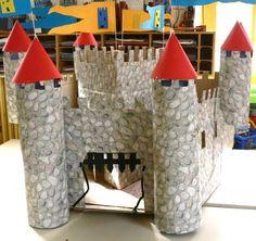 maquette de château-fort