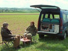 Bouw zelf een camperkist en maak van je mini MPV een echte camper.