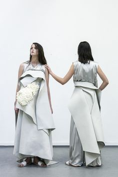 Innovative Fashion Design with sculptural layers & experimental textures // Doan Nguyen