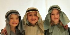 Step by step guide on how to make your own nativity costumes