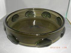 Mid Century Scandinavian Norway Hadeland Glass Severin Brorby Bowl Signed RARE | eBay