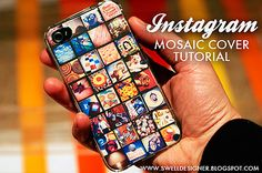 DIY - Instagram Mosaic iPhone Cover Tutorial