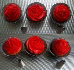 Cupcakes versieren: Effecten van spuitmondjes