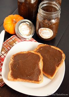 Pumpkin Butter {Slow Cooker} | The Marvelous Misadventures of a Foodie