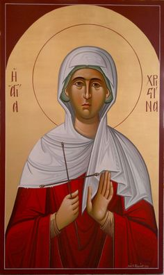 St. Christina - July 24 - by Costas Gerasimou
