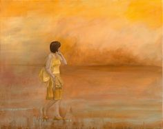 """Saatchi Online Artist: Chrys Roboras; Oil, 2012, Painting """"In a little while"""""""