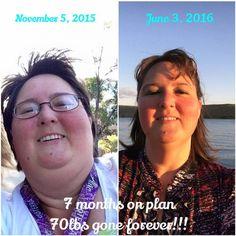 70 Pounds in 7 Months! An Inspiring Trim Healthy Mama Testimony: Chrissie R. www.TrimHealthyMama.com