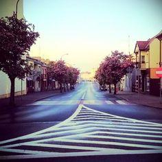 Ulica Wojska Polskie w Wągrowcu wiosną. #wagrowiec #wielkopolska #polska #poland #wągrowiec #ulica #street Fot. D. Kożuszko