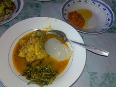 Papeda, congee sago with yellow fish soup. #Pindonesia