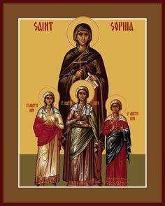 St. Sophia & her daughters - September 17
