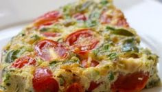 Living Well on Less: Baked Vegetable Frittata