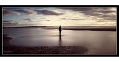 One last 6x17 sunset image of an Iron Man alone as the tide rolls in.  More artistic effect applied here.