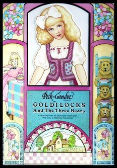Goldilocks and the Three Bears, A Paper Doll From the Enchanted Forest Series and Story as Retold by Peck-Gandre by Peck-Gandre, http://www.amazon.com/dp/B004XQMZY6/ref=cm_sw_r_pi_dp_VQ4tqb19MR7HP